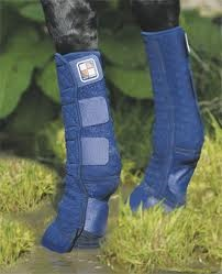 Equi-Chaps by Equilibrium designed to keep your horse's legs dry and mud free
